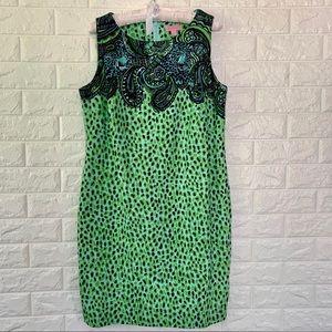 Lilly Pulitzer Leopard Print Shift Dress Size 10